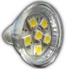 6-LED MR11 Bulb - Power Cluster (MR11-06)