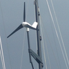 MK4+ on Marine Kinetix Wind Generator custom Mizzen Mast Mount