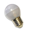 Edison E36 3W 12V/24V LED Bulb with Frosted Globe