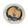COB G4 bulb shown in small G4 puck fixture