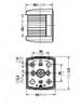 Economy Series 25 -  Port  & Starboard LED Navigation Lights