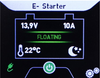 Engine Starter Battery  in Float Mode
