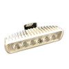 White Blue LED Spreader and Deck Flood Light