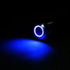 Blue Illuminated pushbutton