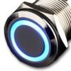 Blue LED Push Button Switch Latching
