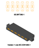 0E1460-1  One-to-one barrier strip, for making 1 to 1 connections (x6)