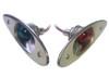 Stainless Steel Shark Eye Navigation Lights for Boats