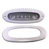 Flush Mount LED Deck Lamp T-Top Light with Bezel