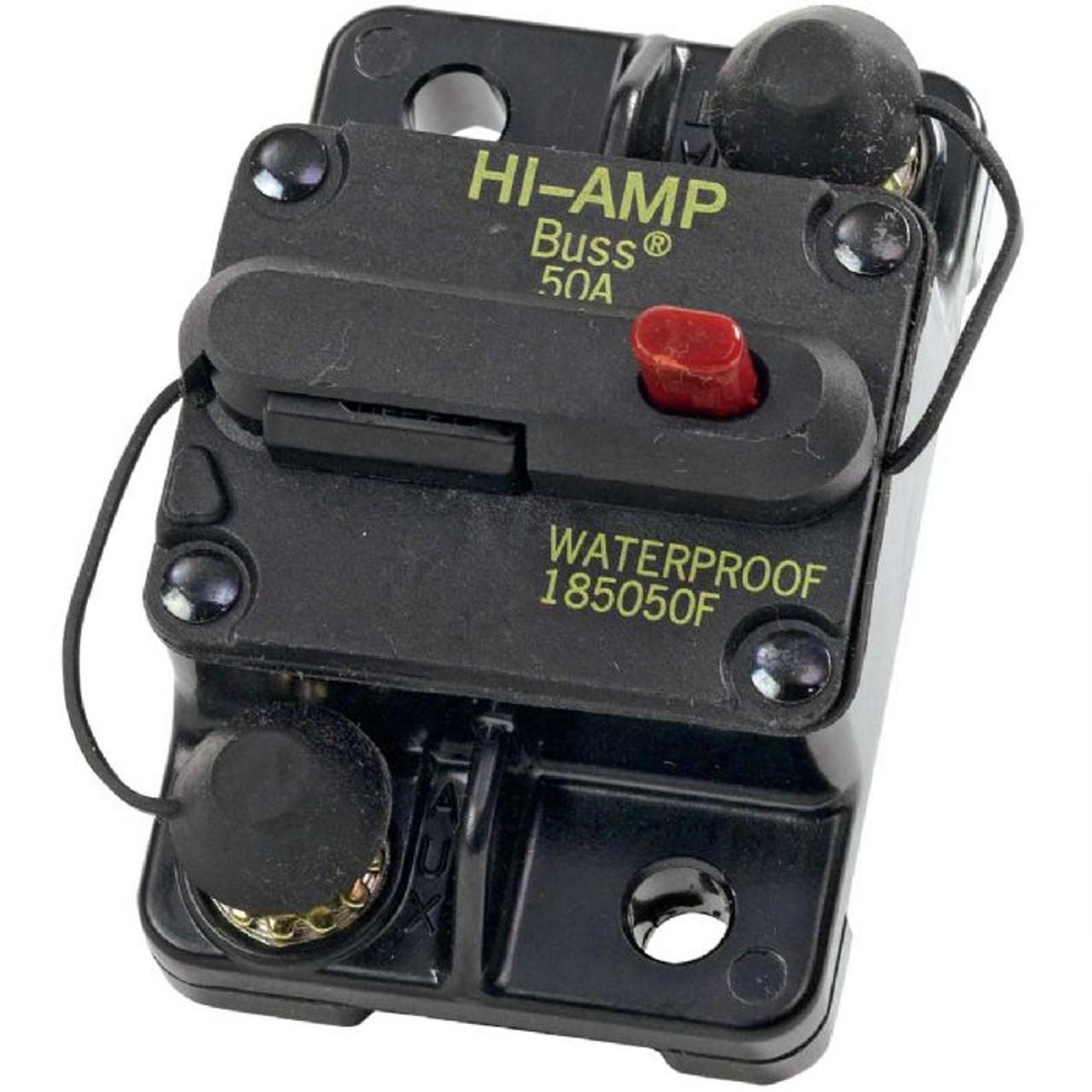 50 Amp Manual Reset Circuit Breaker