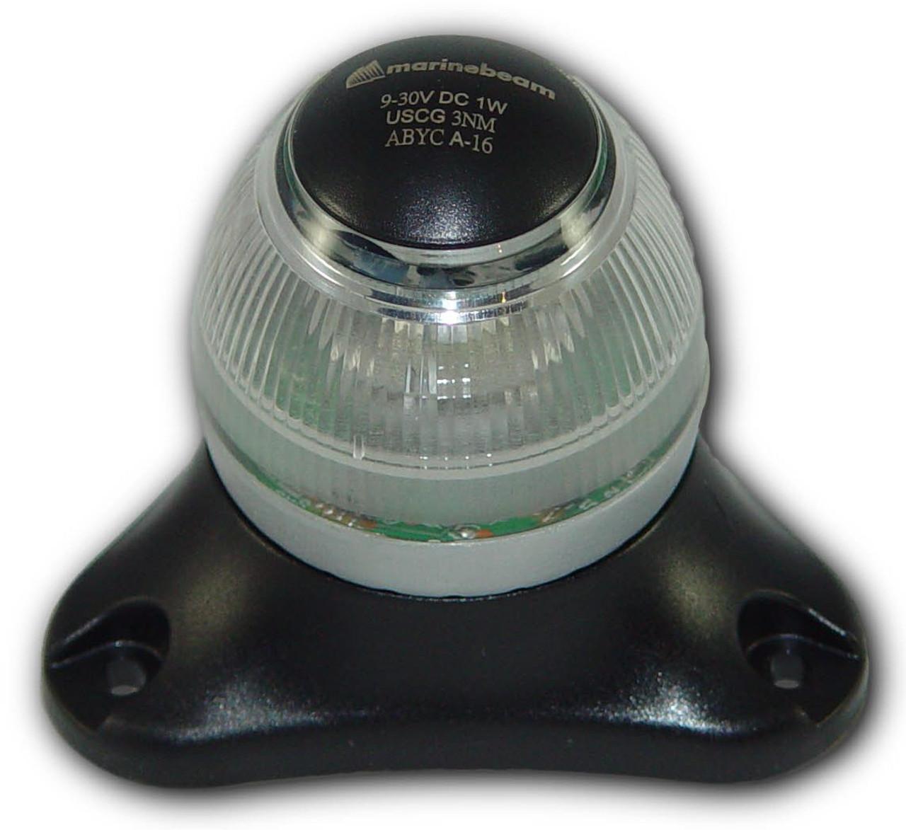 LED All-Around Anchor Light - Black Hsg