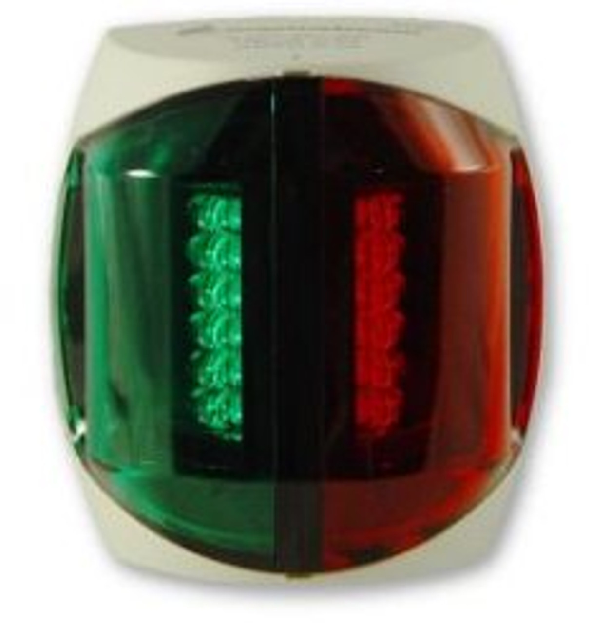LED Bi-Color Bow Navigation Light - White Hsg