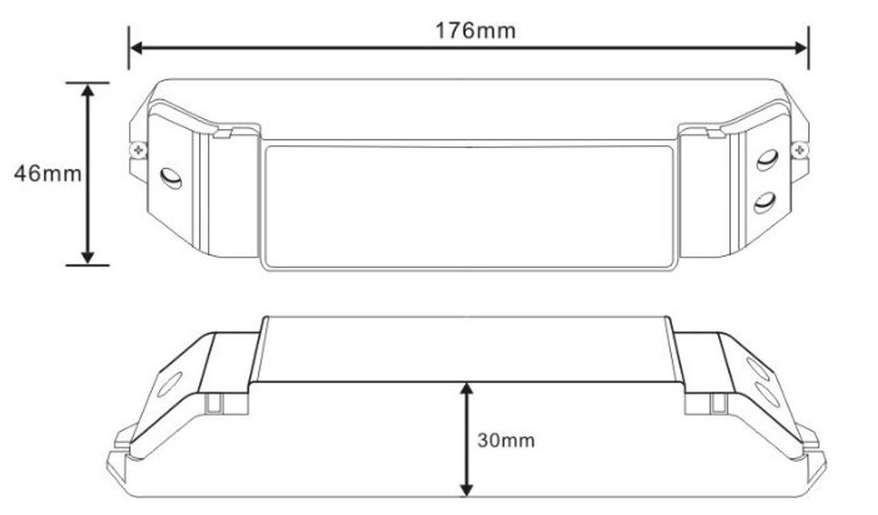 12-24V PWM Digital LED Dimmer Module