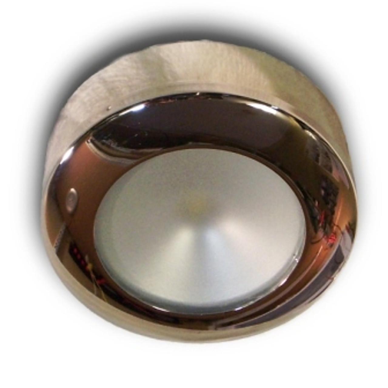 Polished Hi-Line Stainless Steel LED Puck Light