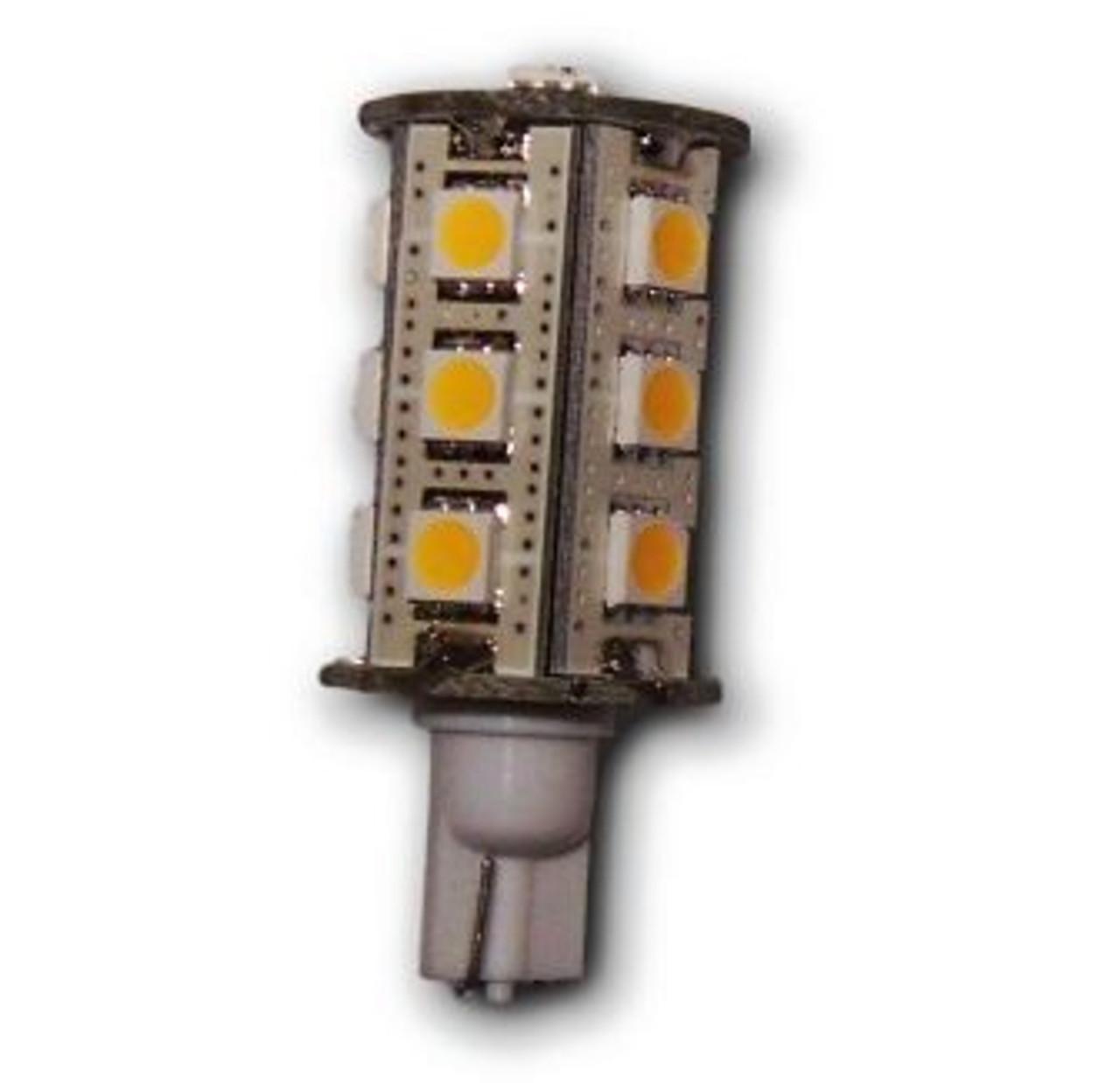 Wedge Base 18-LED Tower Bulb