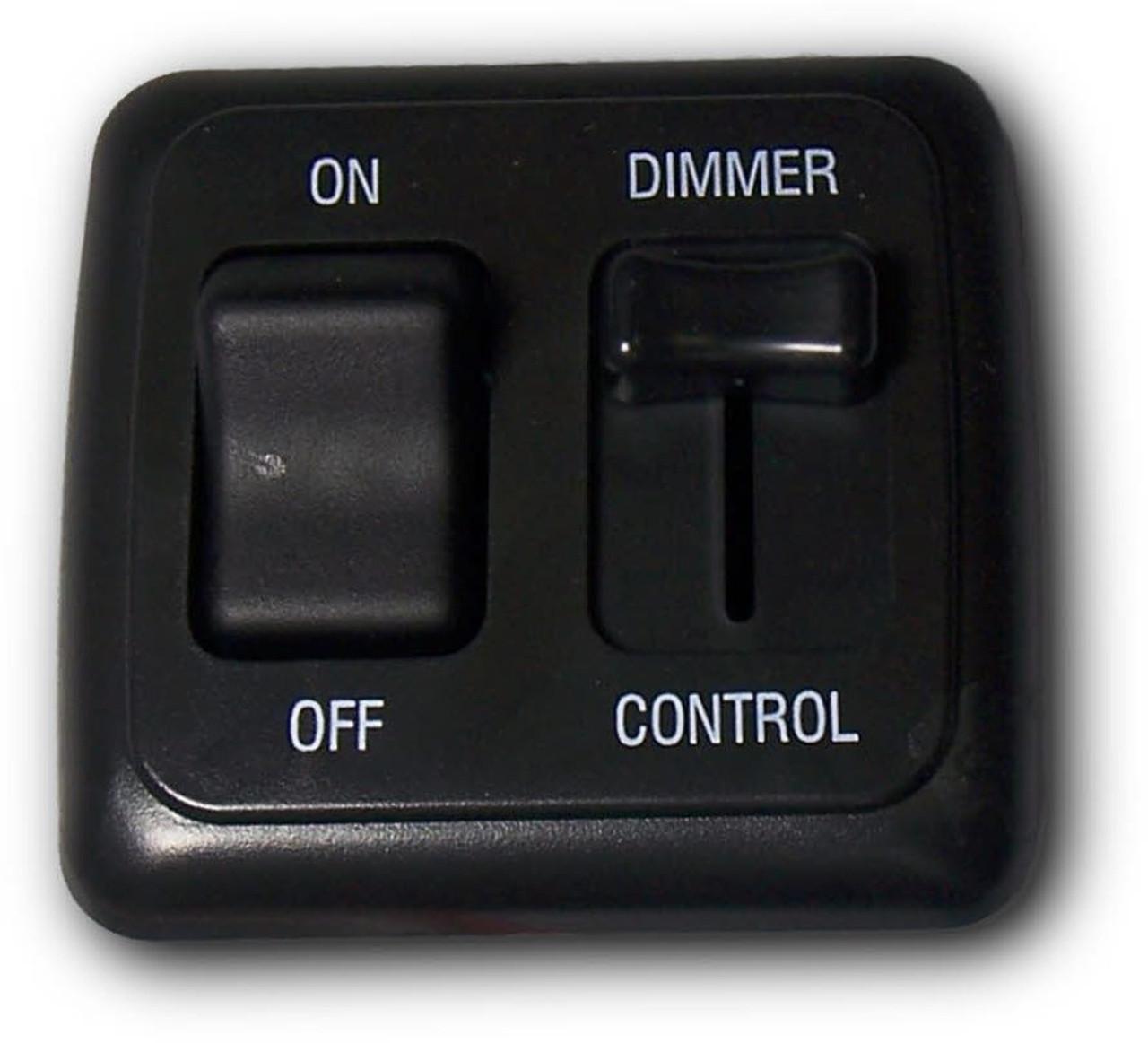 12VDC LED Slide Dimmer with Switch