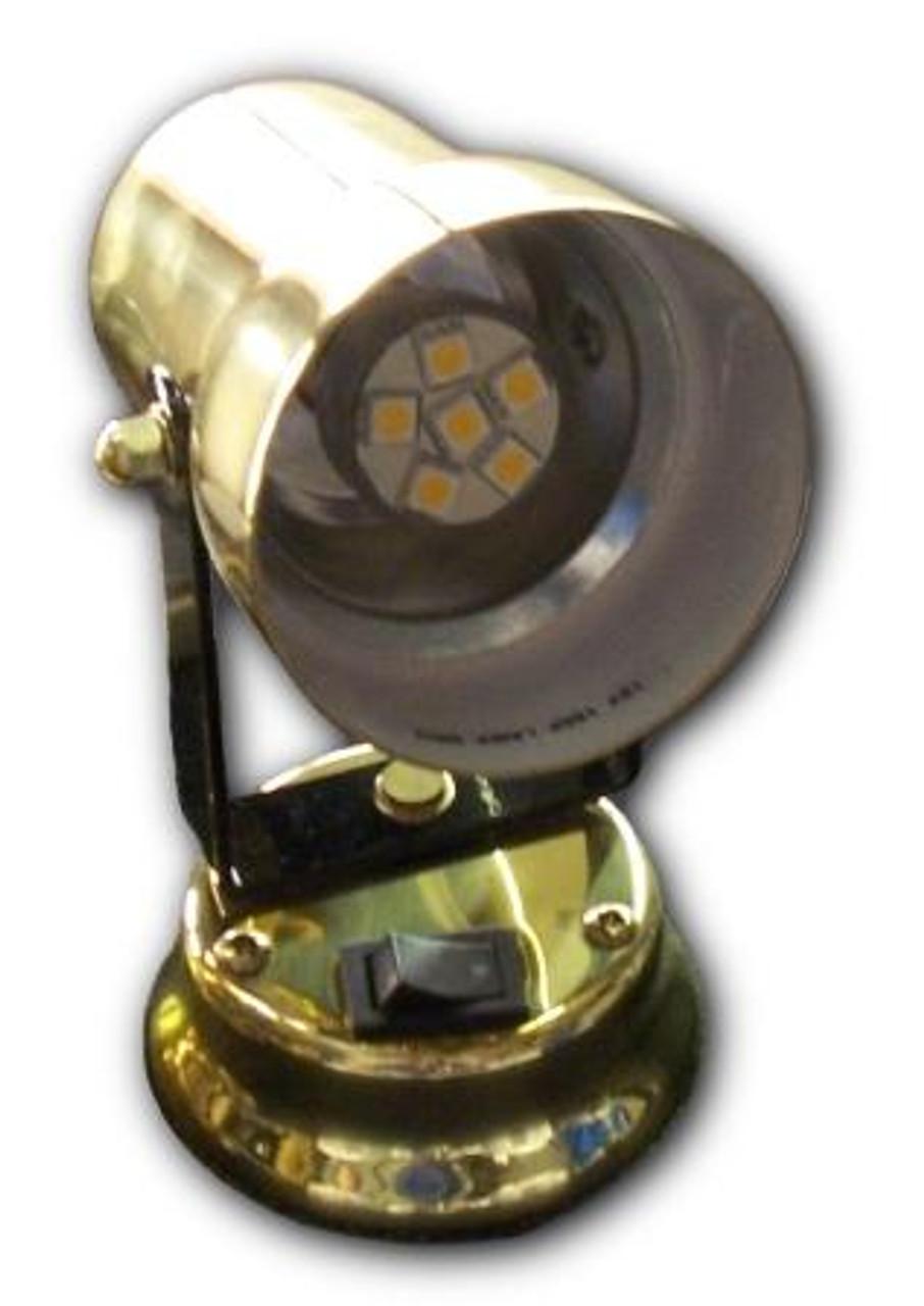 Wedge Base Back-Mount 9-LED Bulb
