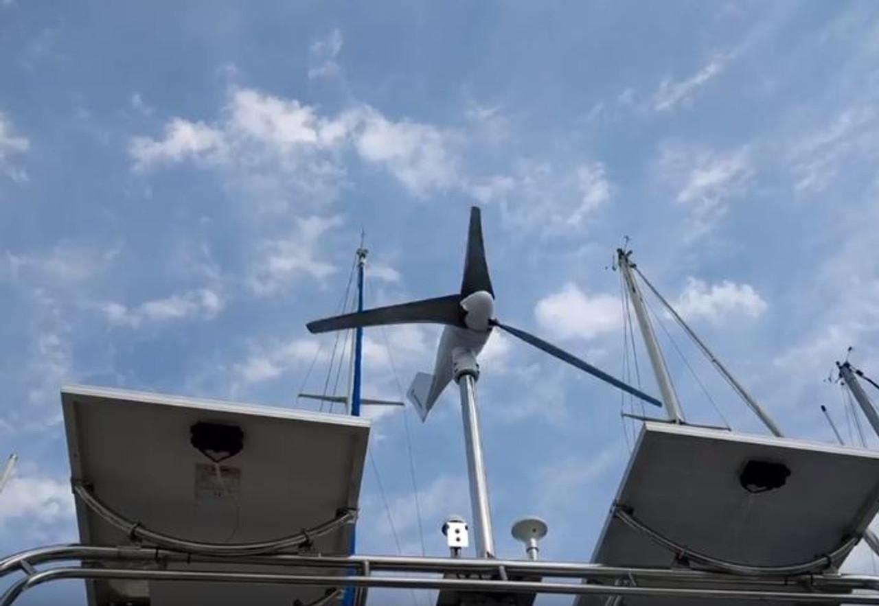 Marine Kinetix MK4+ Wind Generator - arch mounted