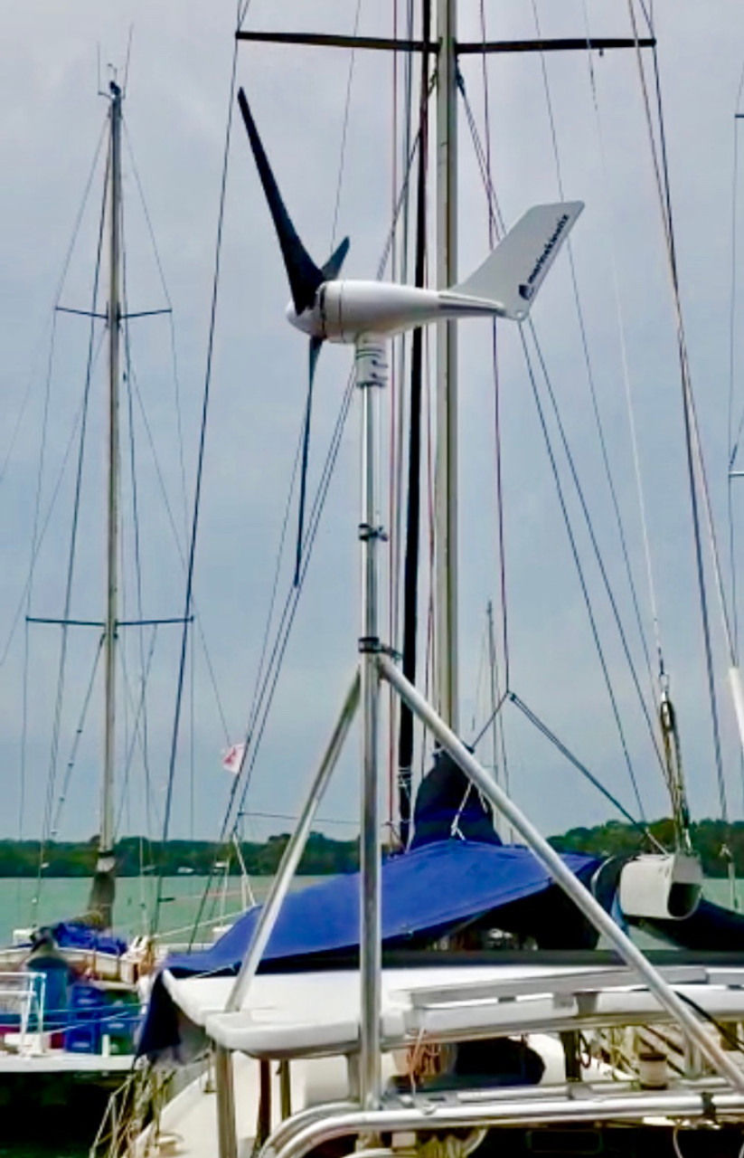 Marine Kinetix MK4+ setup compliments of Wojciech Wojcik on S/V Galla Terra in Guatemala