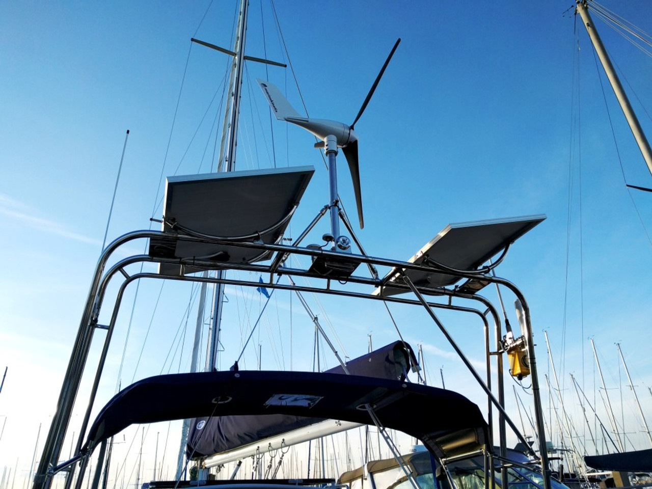 Arch Mounted MK4+ Marine Kinetix Wind Generator