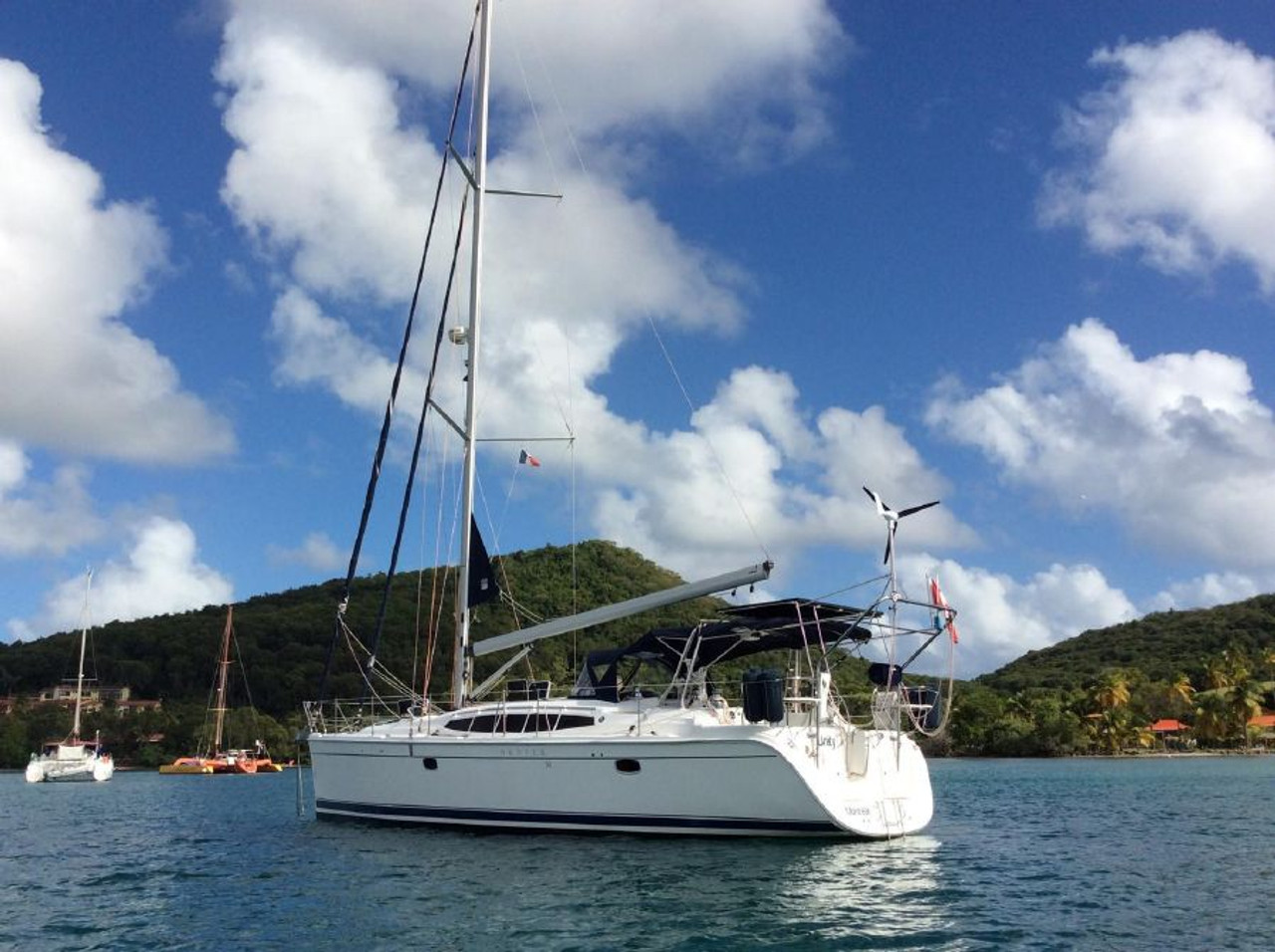 Power in Martinique thanks tothe MK4+ by Marine Kinetix