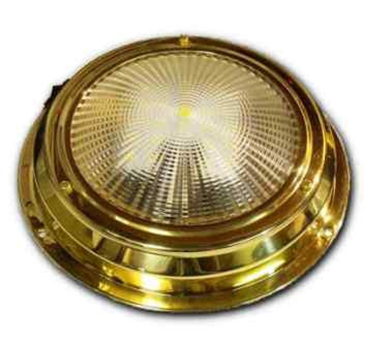 "6.75"" LED Cabin Dome Light - Stainless Steel"