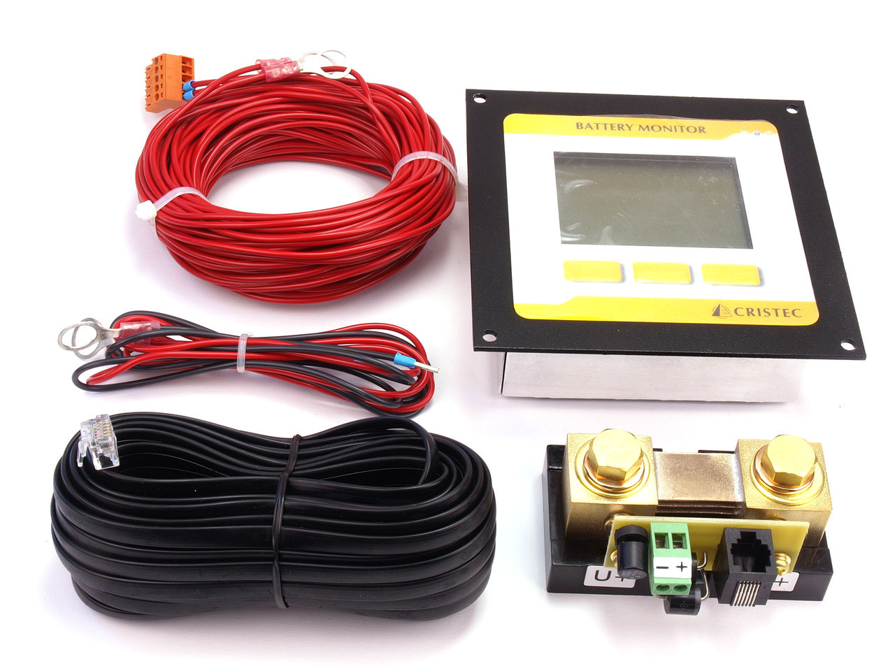 Battery Monitor Kit Contents