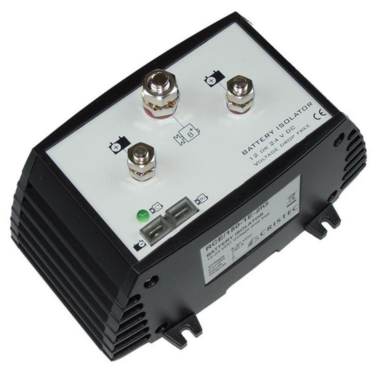 150A MOSFET Battery Isolator , 2 Bank Closeup