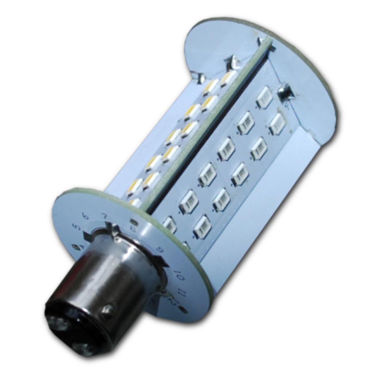 Indexed Bayonet Tri-Color LED Bulb for Aqua Signal Series 40