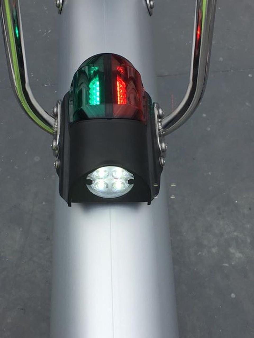 Beneteau combo bi-color deck light