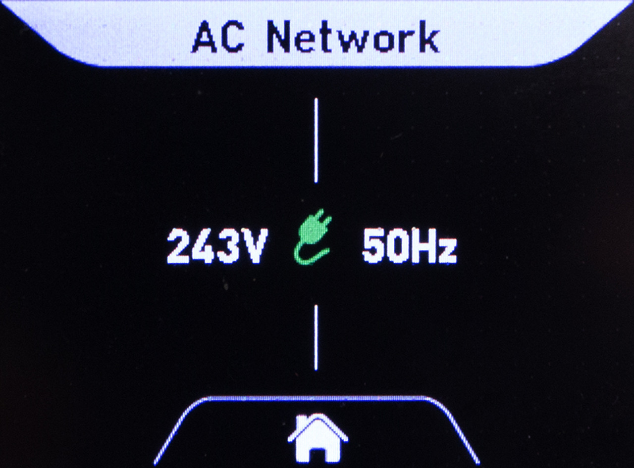 Monitors AC Grid Voltage and Frequency