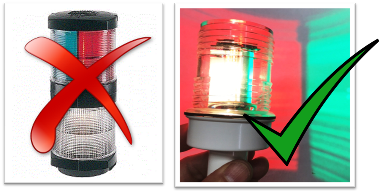 Smart LED Tri-Color, Anchor Light, and Strobe