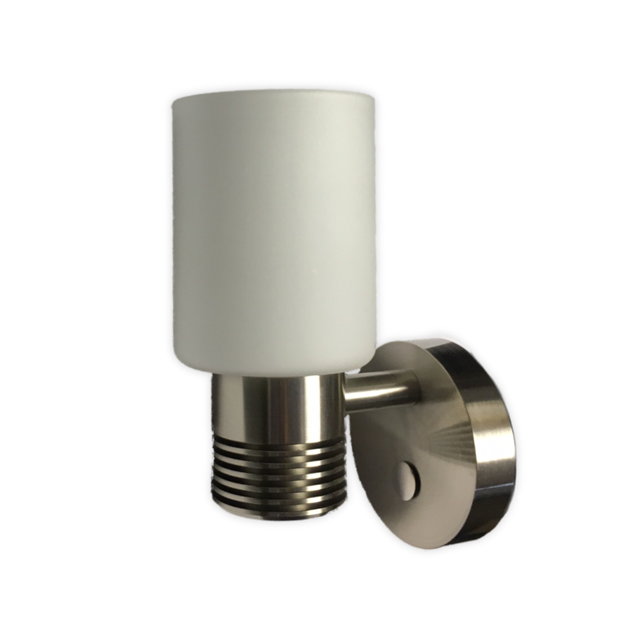 LED Bulkhead Sconce Light - Nickel Finish Shown