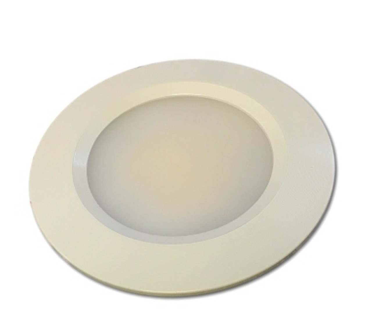 White Bezel - 12V LED Recessed Ceiling Light Fixture
