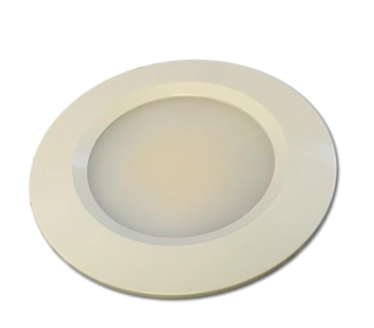 White Bezel - 12V LED Recessed Ceiling Light Fixture