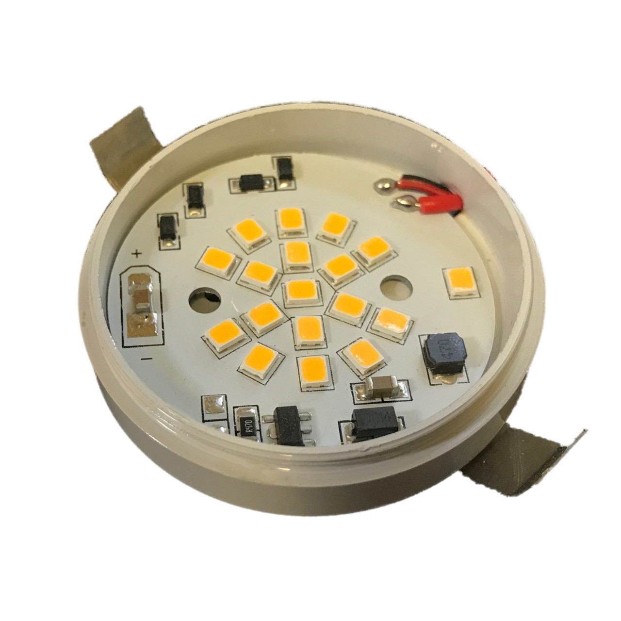 18 High Brightness 2835 LED chips with Constant Current LED Driver.  10-30VDC and dimmable