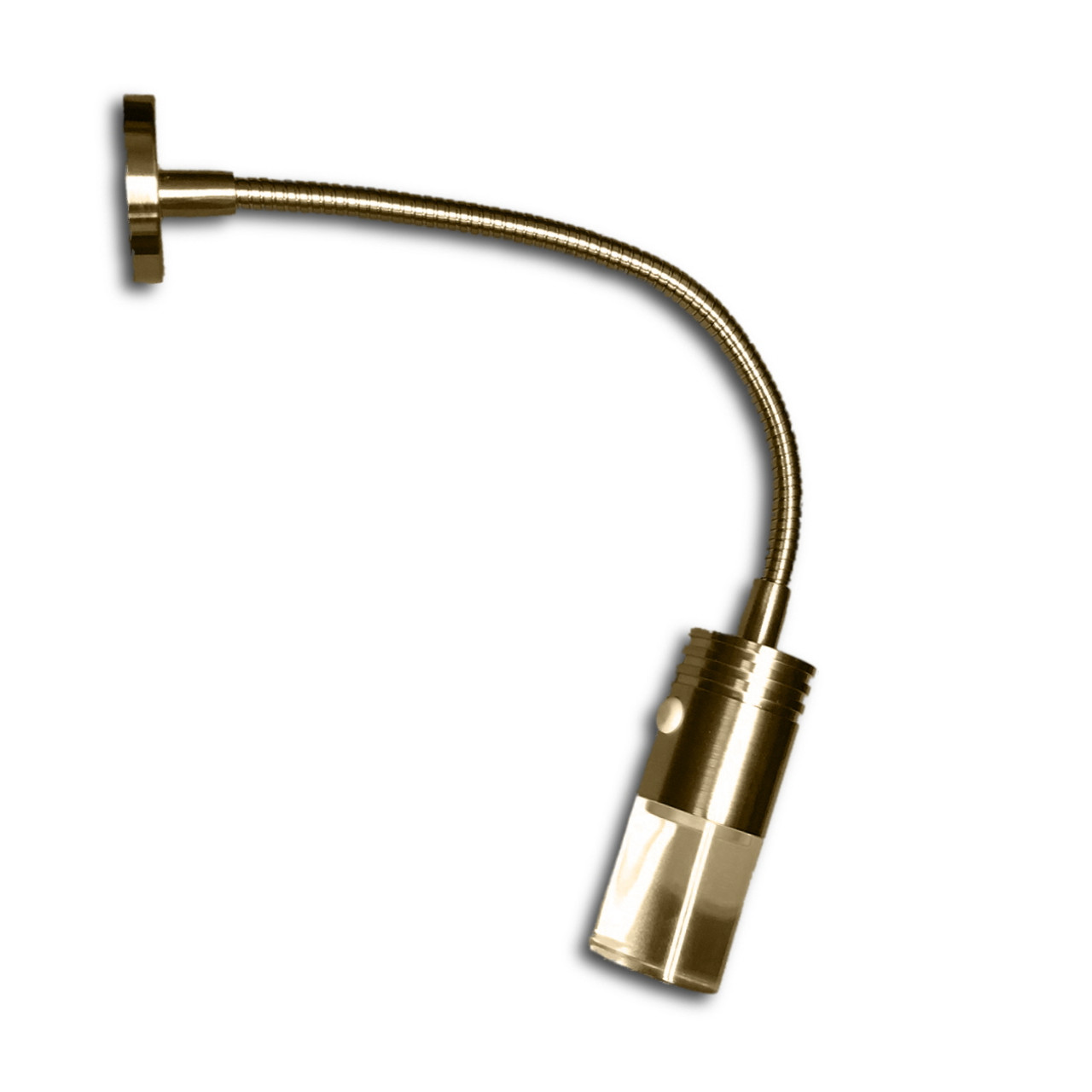 Gooseneck LED Reading Light - Brushed Nickel