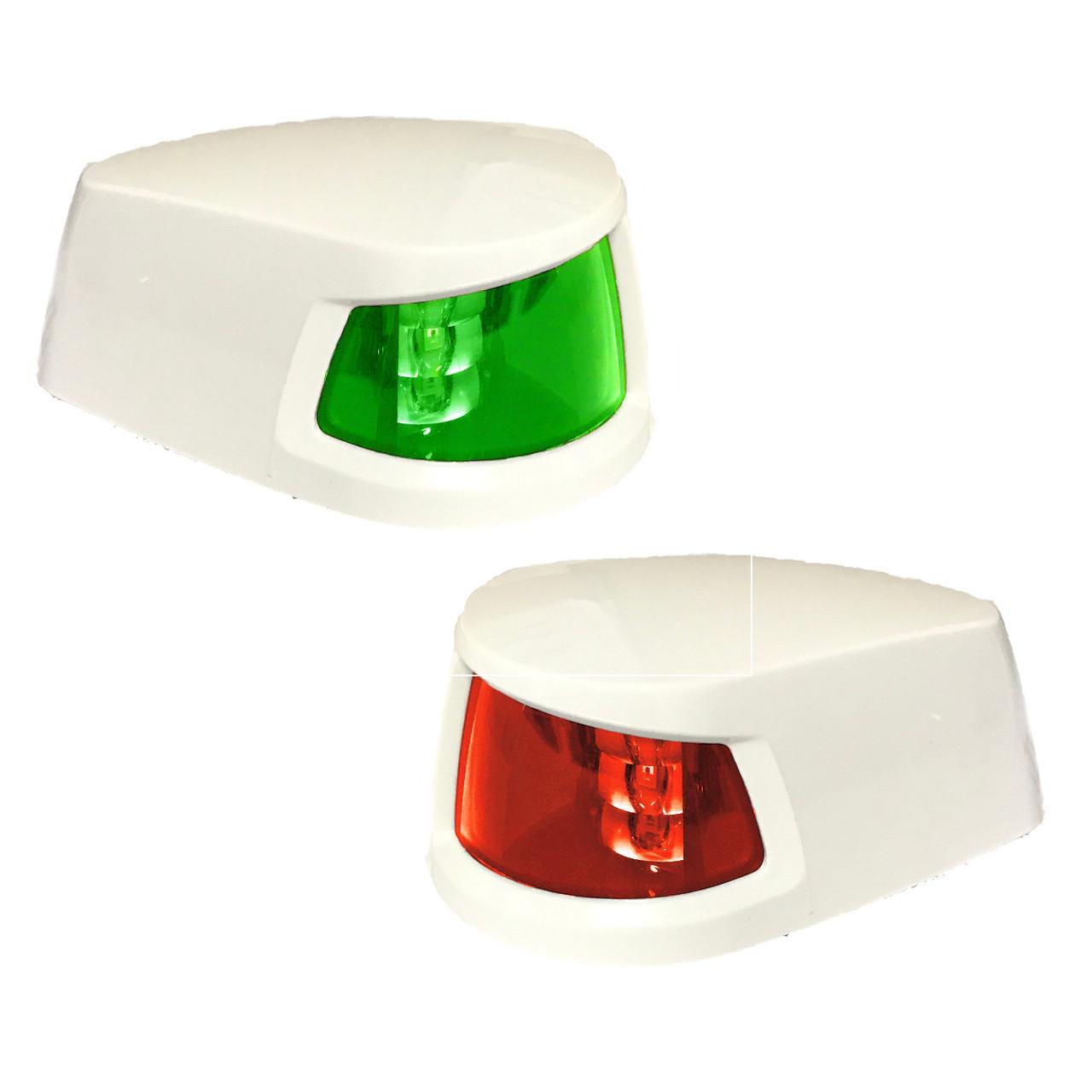 LED Navigation Side Lights 12V/24V Horizontal Mount