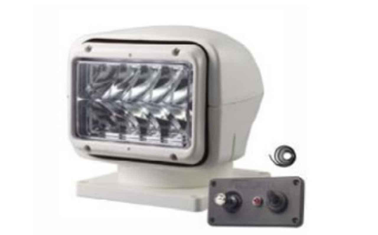 50W Search Light in White with dash mounted Joystick
