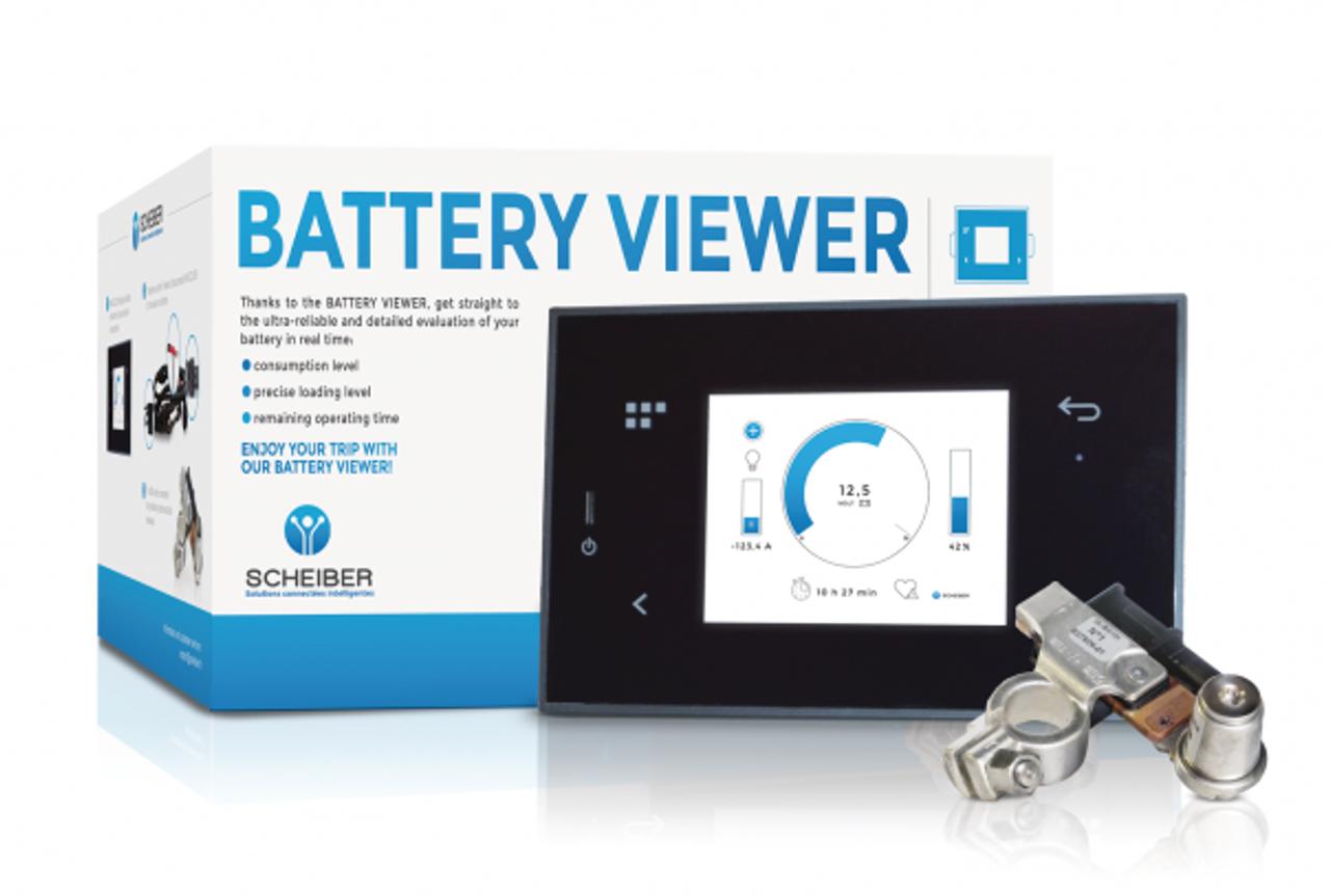 Scheiber Battery Viewer - Intelligent Battery Monitor 12V and 24V