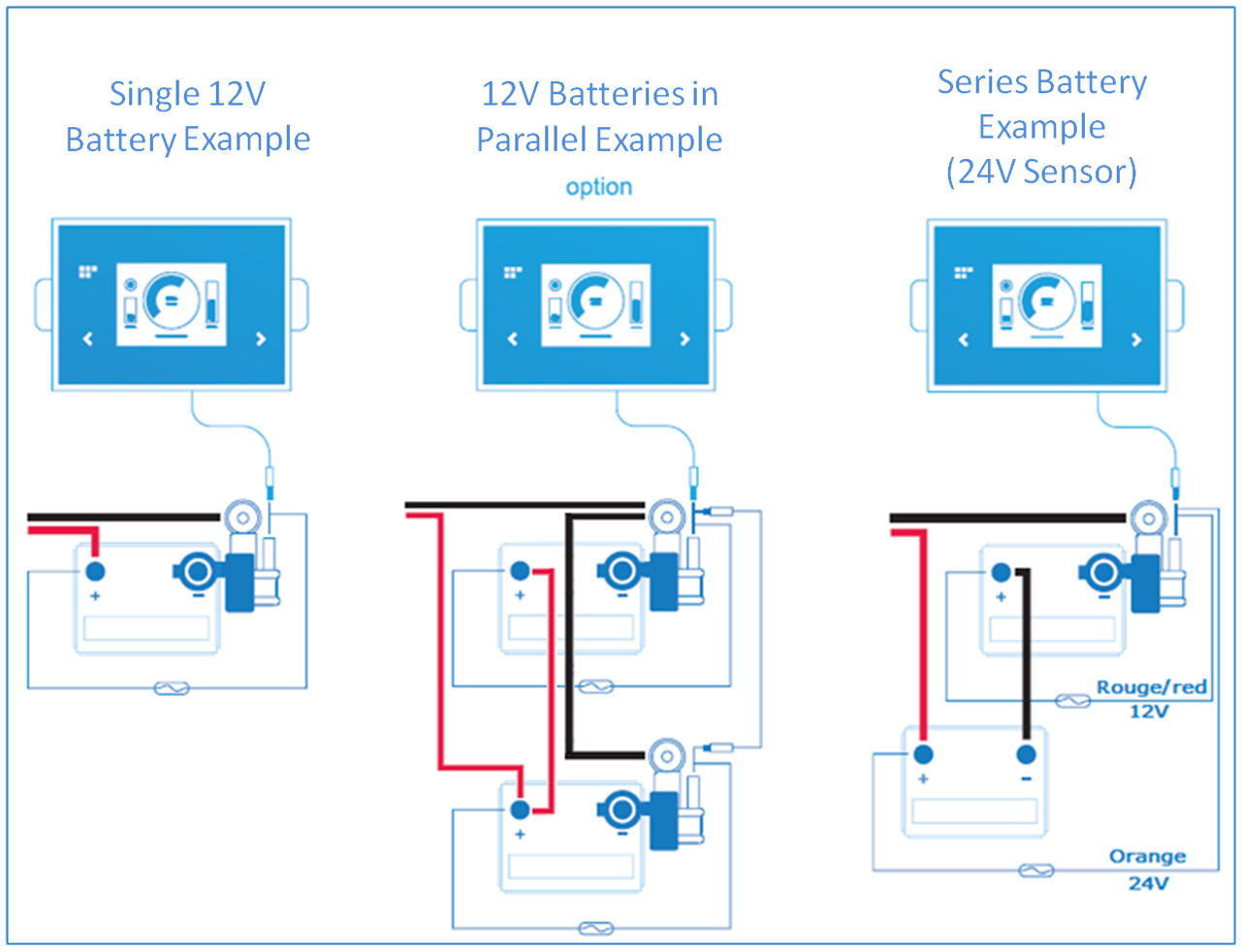 Battery Viewer Intelligent Monitor For 12v And 24v