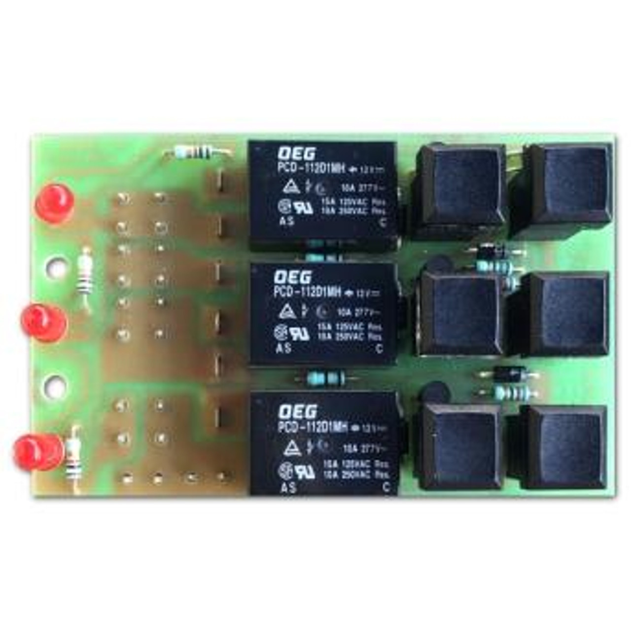 Relplaces original Scheiber Jeanneau Relay Switch Panel (as shown)