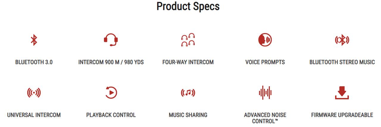 SENA Expand Bluetooth Duplex Headset