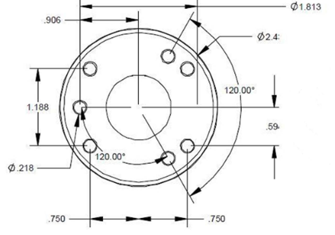 Hole pattern (RAM Compatible)