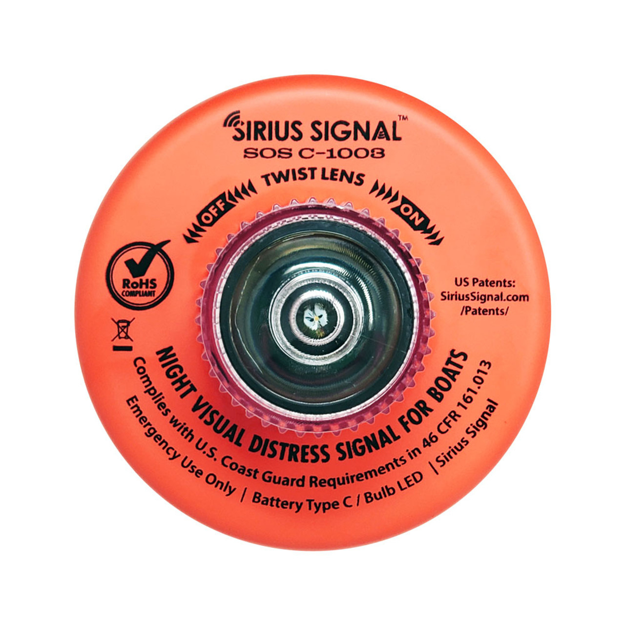 Sirius Signal LED Electronic Flare SOS Marine Distress Light