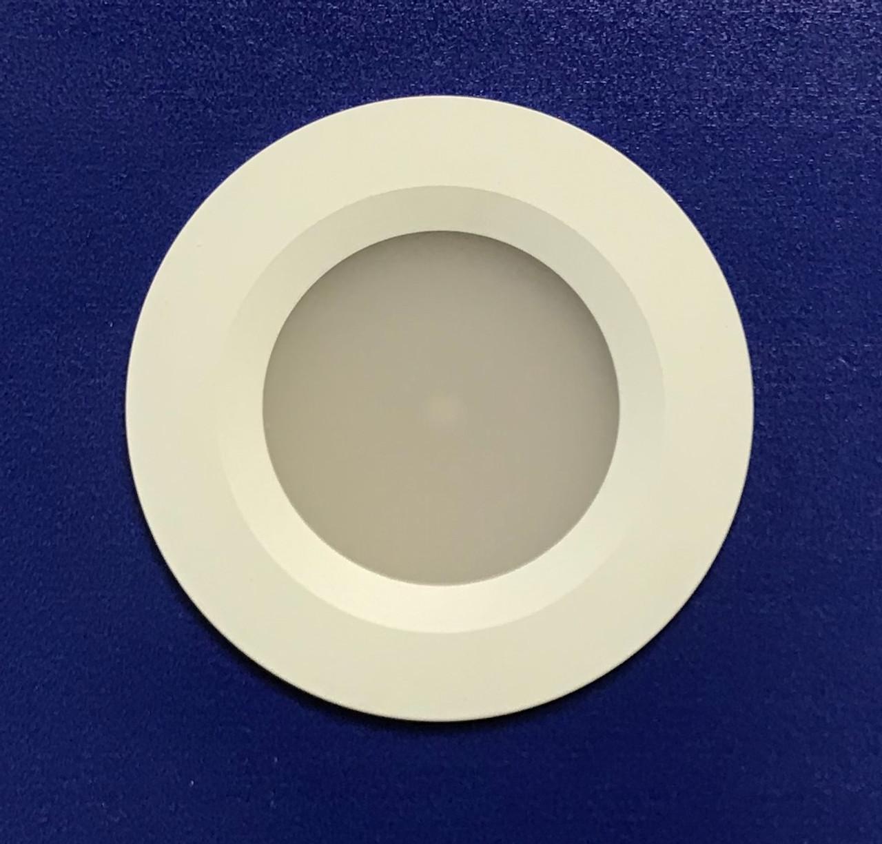 White Aluminum Bezel