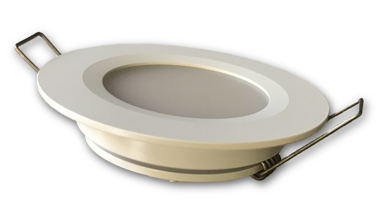 LED Recessed downlight for boats and RVs - 12V or 24V DC