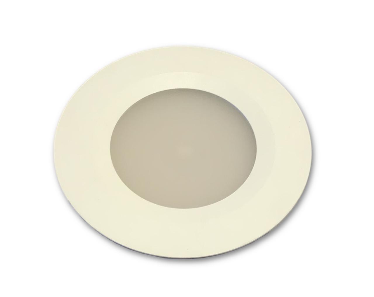 Flush mount LED downlight design