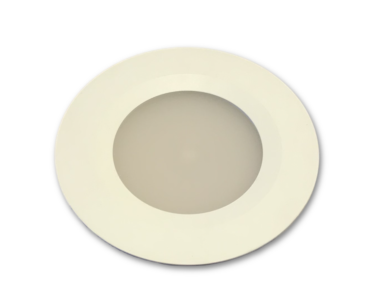 Flush mount LED downlight design