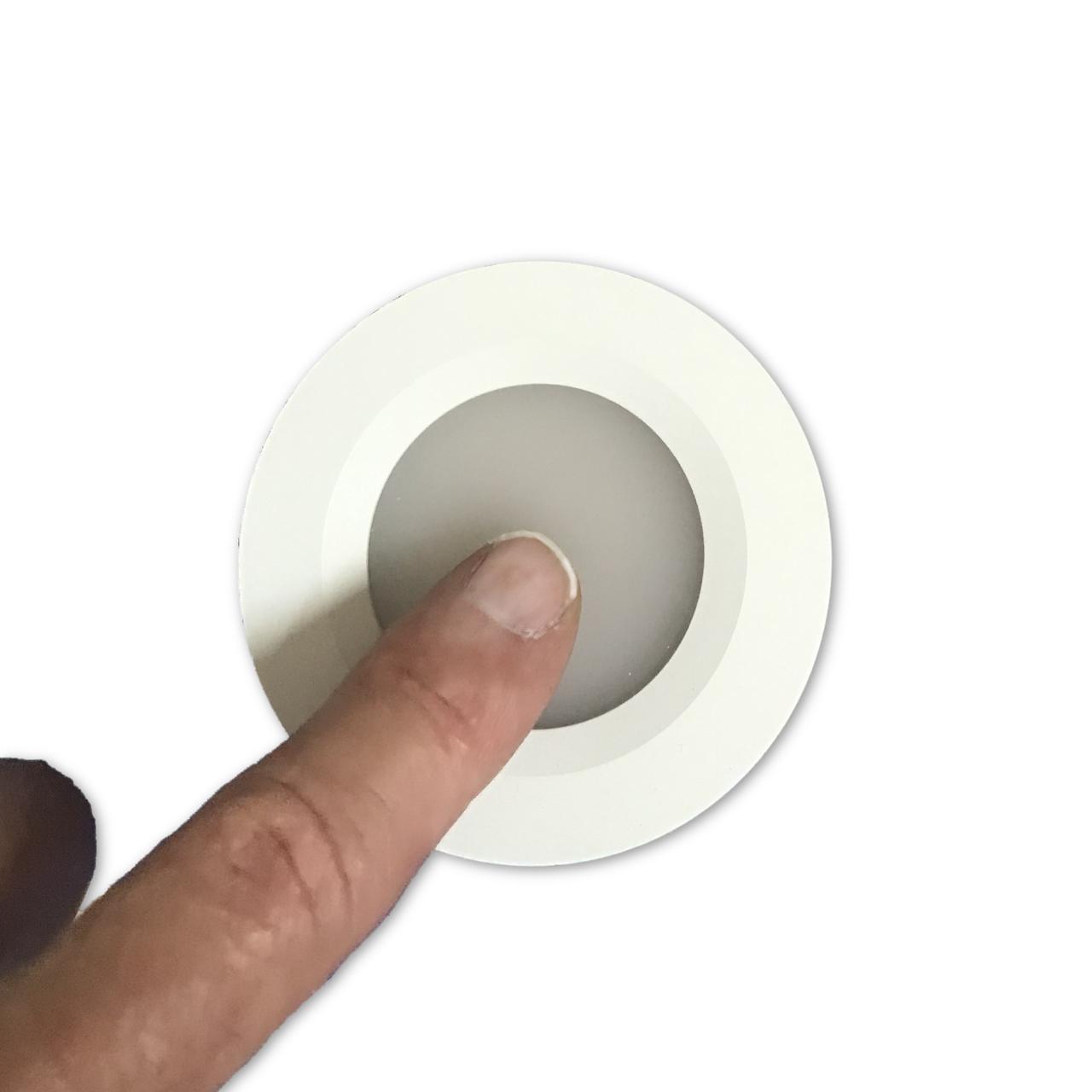 Flush mounted recessed LED cabin light downlight