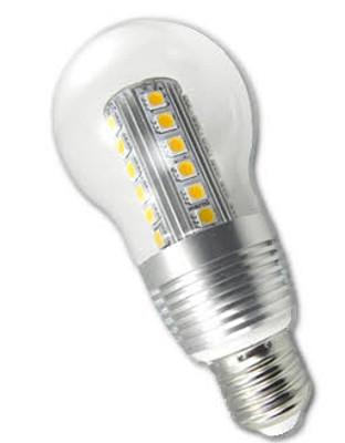 7W Edison Medium Base E26 LED Light Bulb